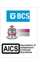The British Computer Society (BCS), Institute of IT Training, Association of Independant Computer Specialists (AICS)